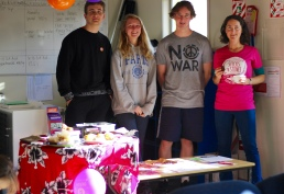 Fair Trade morning tea at Mt Aspiring College 21.5.2015