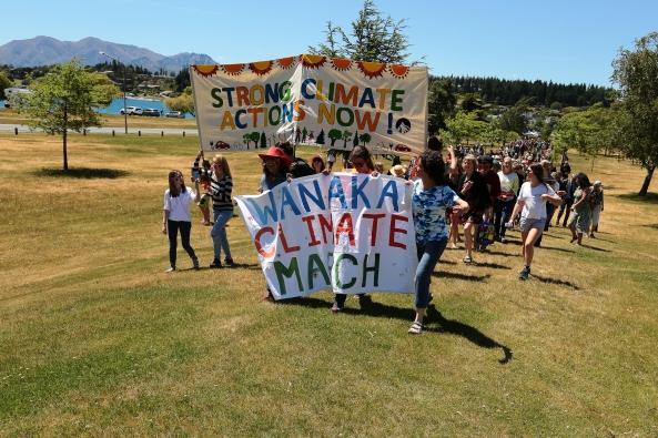 Wanaka Climate March Thierry Huet