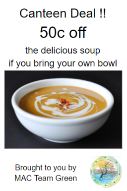 Canteen deal Soup