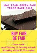 Melia Fair trade poster