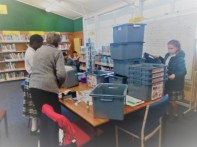 Labelling the recycling bins